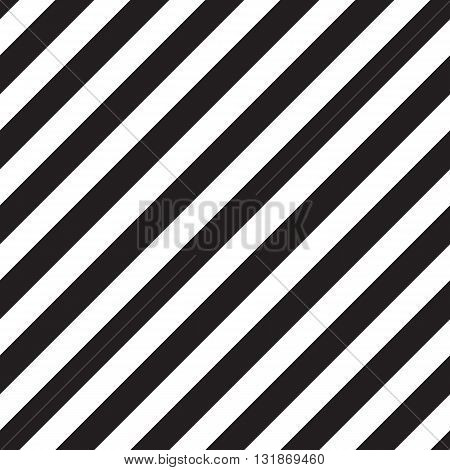 Classic diagonal lines pattern on black background. Vector design