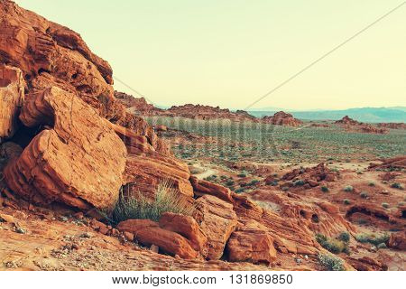 Valley of Fire State Park, Nevada, USA