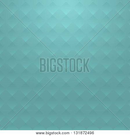 Mint background with geometric road texture. Summer fresh soft background for the site in the vector.