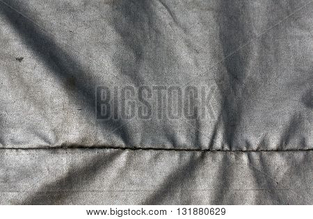 Abstract Gray Waterproof Textile Texture.