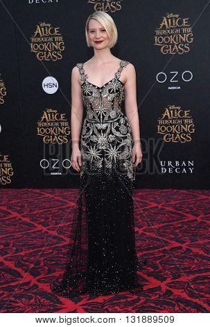LOS ANGELES - MAY 23:  Mia Wasikowska arrives to the