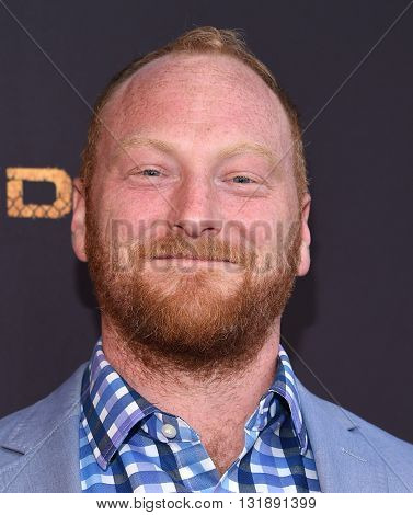LOS ANGELES - MAY 25:  Mac Brandt arrives to the