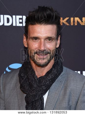 LOS ANGELES - MAY 25:  Frank Grillo arrives to the