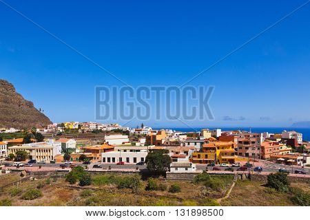 Village in La Gomera island - Canary Spain