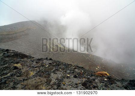 Tompaluan Crater Lokon-empung Volcano