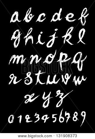 Hand Drawn Alphabet Letters