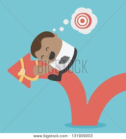 concept  business goals illustration vector eps .10