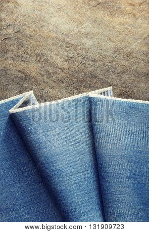 blue jeans texture on background