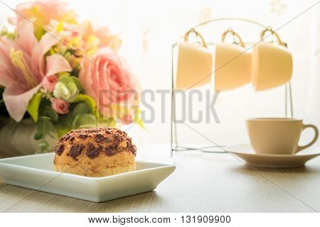 Chocolate Cream Puff Cake. Eclair Cake