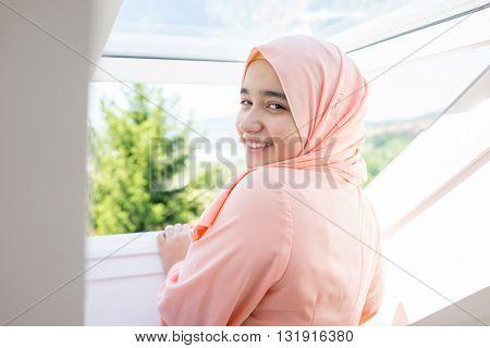 Beautiful Muslim Arabian girl