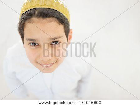 Happy Arab boys