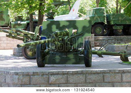 Green Artillery Cannon