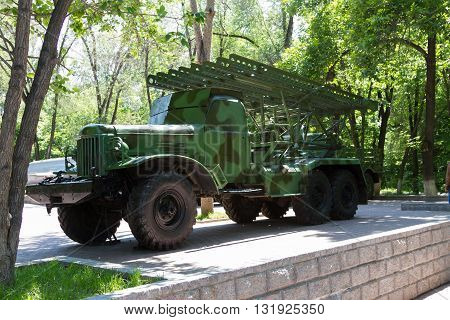 Soviet Military Armored Vehicles