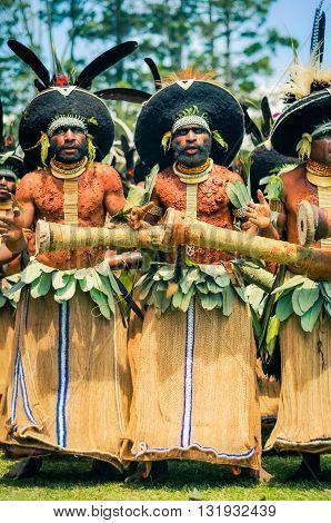 Ceremony In Papua New Guinea