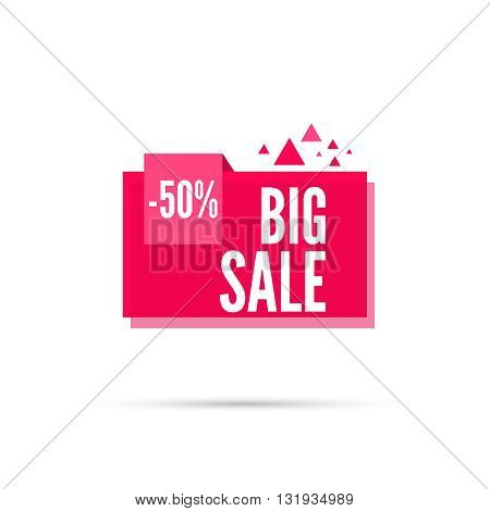 Sale background. Sale tag. Sale banner. Sale vector. Vector tag. special offer, discount and percentages, price. discount tag. 50 percentage. Big sale