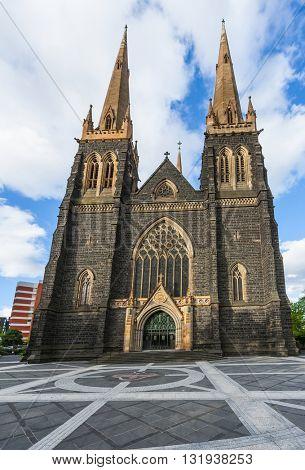 St. Patrick's Roman Catholic Cathedral in Melbourne, Victoria, Australia