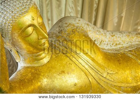 Head and face of the Buddha, Thailand.