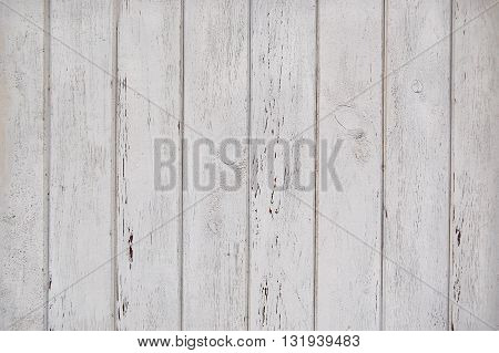 white wooden planks with scratches, wooden background