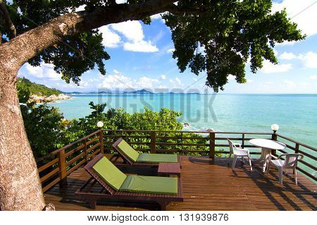 Accommodation at the view very beautiful and pleasant