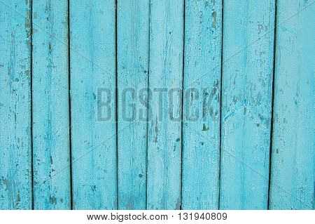 light blue wooden planks, wooden background, old fence
