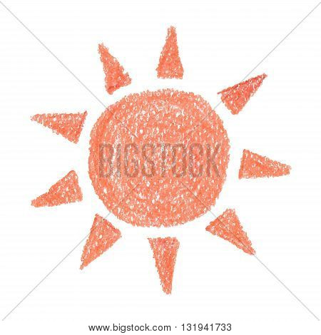 Sun vector hand drawn Icon Sun Icon Vector Sun Icon EPS Sun Icon design