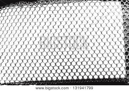 Distressed overlay grid grunge empty texture. Design element. EPS10 vector.
