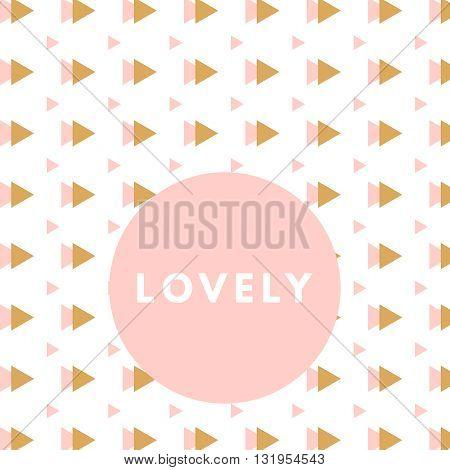 Creative girlie printable journaling card. Lovely princess. Romantic cute poster. Minimalism design for banner, flyer, wallpaper