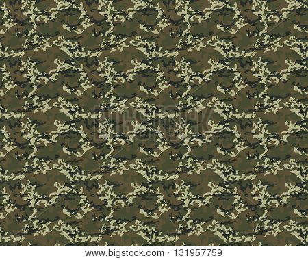 Fashionable camouflage pattern, vector illustration.Millatry print .Seamless vecto