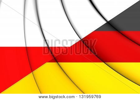 Flag Of Poland And Germany