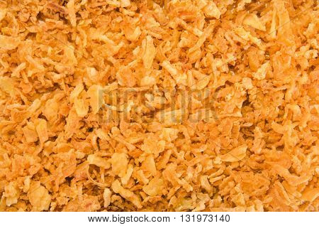 deep fried and crispy onion to use as background