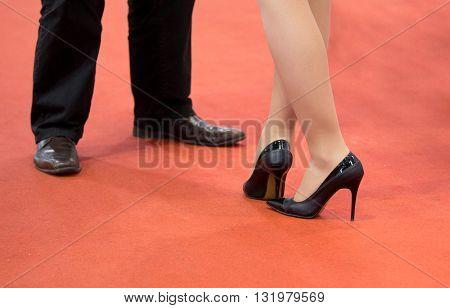Business Man And Woman Communication
