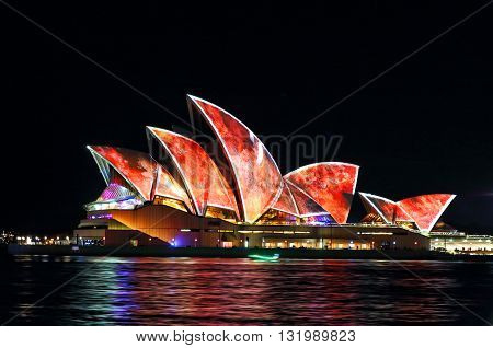 Sydney Opera House Vivid Sydney 2016