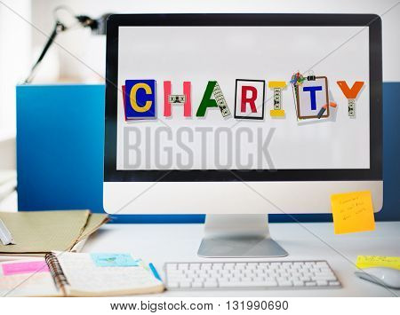 Charity Support Help Welfare Donation Concept