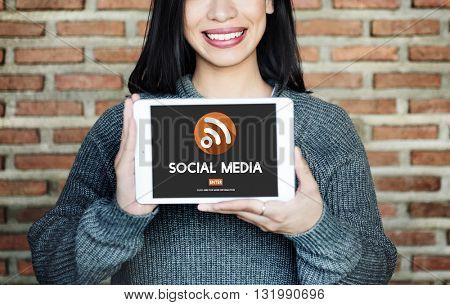 Social Media Communication Community Sharing Concept