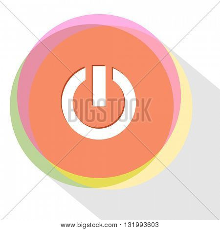 switch element. Internet template. Vector icon.