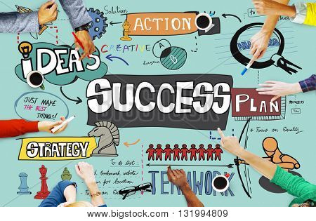 Success Improvement Achievement Goal Aim Concept