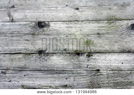 A Weathered old wooden boards background. Horizontal