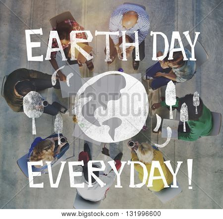 Earth Day Ecology Save Earth Concept