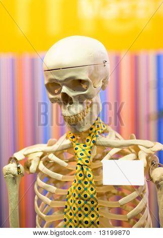 Dead office worker