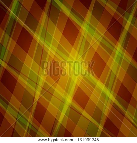 Abstract vector background. Bright Geometric Backdrop. Brown Yellow Color Illustration. Can Used for Wrapping, Tamplates, Web, Ivitation, Textile