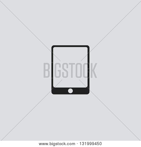 Tablet icon vector. Tablet logo. Tablet sign. Tablet icon web - stock vector.
