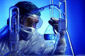 medizinische Wissenschaft Ausrüstung. Forschung, Labor, Wissenschaft, testen