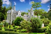 stock photo of fairy-tale  - Fantastic old castle - JPG