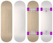 pic of casper  - Blank skateboard templates in wood - JPG