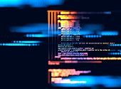 Programming Code Abstract Technology Background Of Software Developer And  Computer Script poster