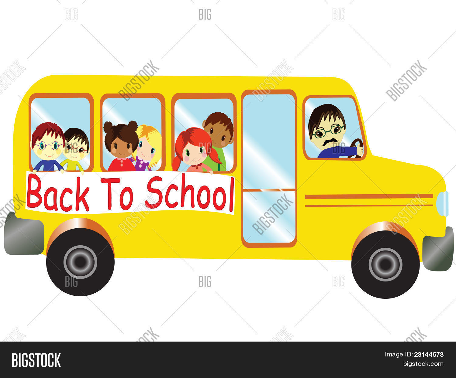 back to school bus clipart - photo #15
