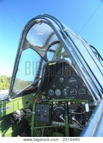 Sbd Dauntless Cockpit