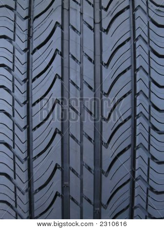 Luxury Car Tire Tread