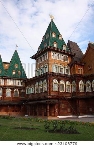 Russia, palace of Tsar Alexei Mikhailovich in Kolomenskoe.