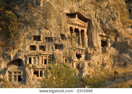 Tombs Of Ancient Likya Kings